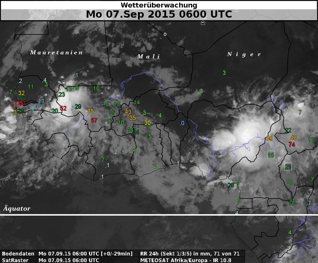 Westafrikanischer Monsun