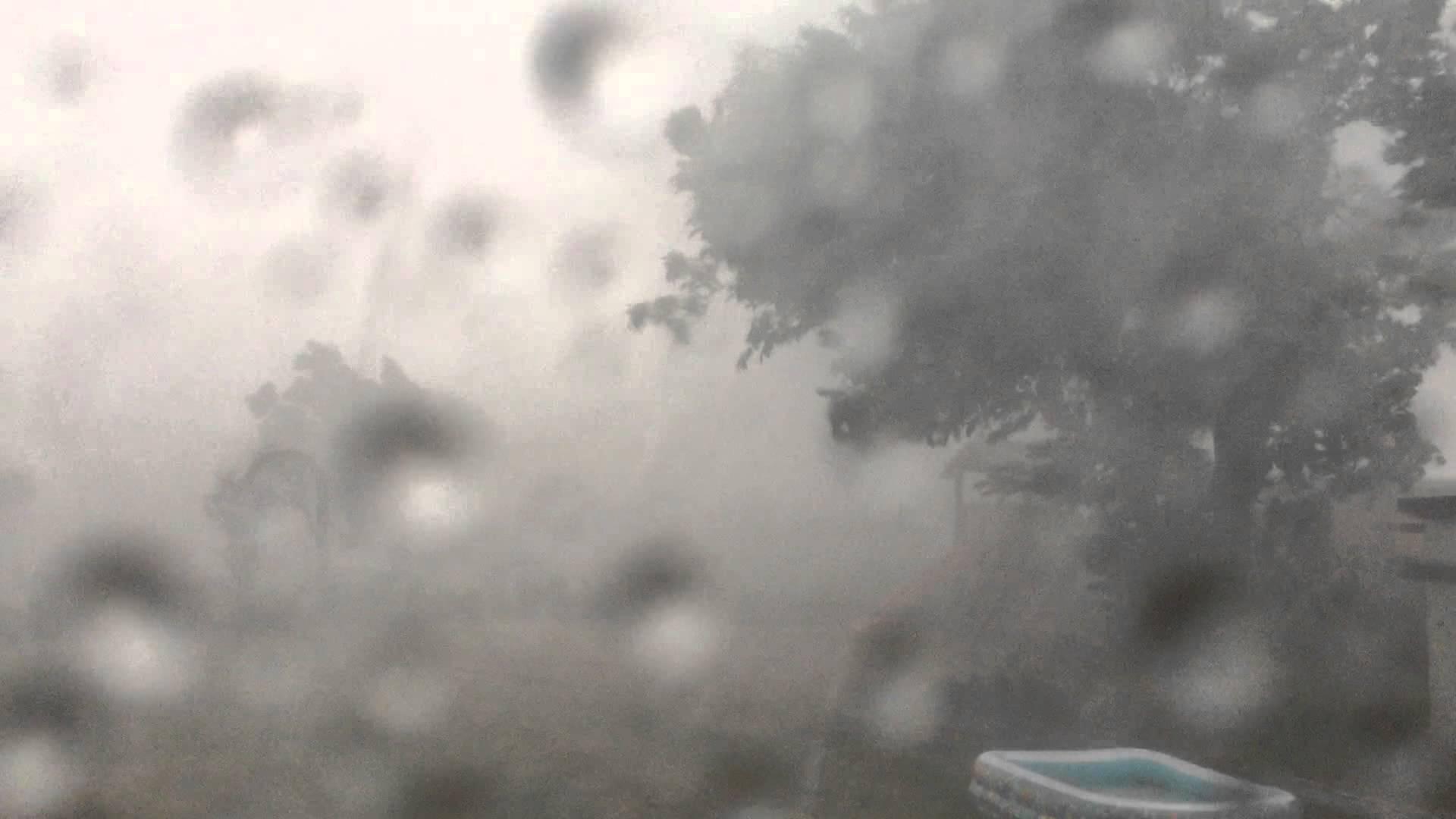 Downburst Fallböe Tornado-Ähnlich in Brachwitz 07.07.2015
