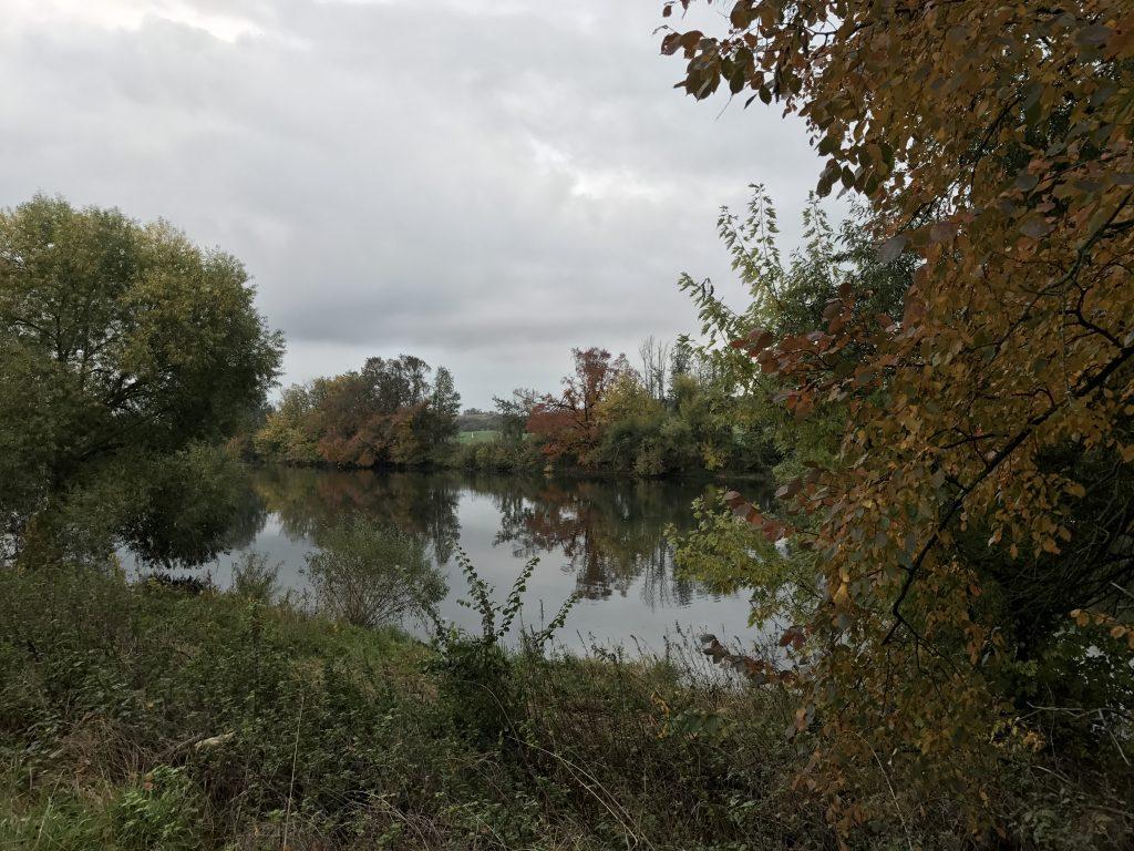 Herbst Bilder Wetterstation Brachwitz