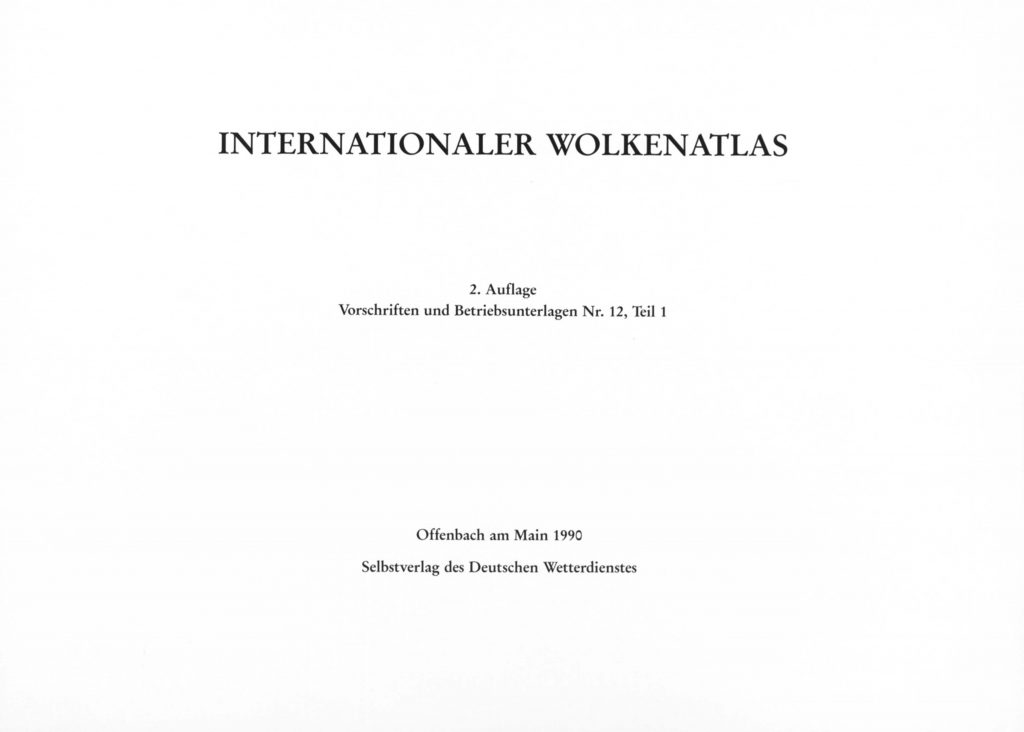 Internationaler Wolkenatlas