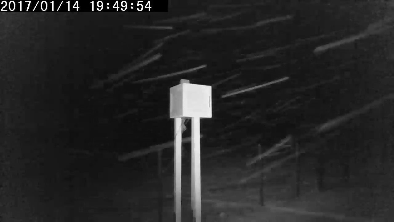 Winter Bilder Wetterstation Brachwitz