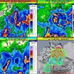 Gewitter und Dauerregen