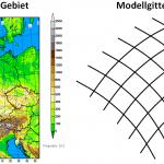 Numerische Wettervorhersage - Billionen an Rechnungen für eine Deutschlandwettervorhersage